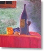 Evening Table Metal Print