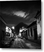 Evening Under The Volcano Metal Print