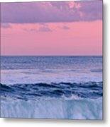 Evening Waves 2 - Jersey Shore Metal Print