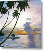 Eventide Tobago Metal Print by Karin  Dawn Kelshall- Best