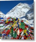Everest Base Camp Metal Print