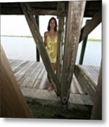 Everglades City Beauty 521 Metal Print