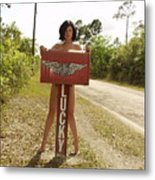 Everglades City Photographer 432 Metal Print