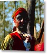 Everglades Seminole Portrait Number Three Metal Print
