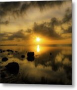 Everglades Sunrise Metal Print