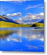 Evergreen Lake Metal Print