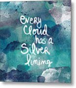 Every Cloud Metal Print