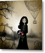 Every Rose Has It's Thorn Metal Print