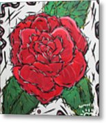 Every Rose Has Its Thorns Metal Print