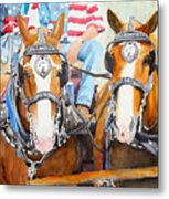Everybody Loves A Parade Metal Print