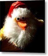 Evil Chicken Metal Print