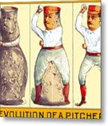 Evolution Of A Pitcher Metal Print