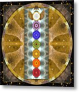 Evolving Light Metal Print by Bell And Todd