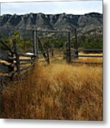 Ewing-snell Ranch 1 Metal Print by Larry Ricker