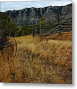 Ewing-snell Ranch 2 Metal Print by Larry Ricker