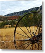 Ewing-snell Ranch 3 Metal Print by Larry Ricker