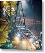 Excavator Coalmine Garzweiler  Metal Print