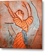 Exclaim - Tile Metal Print