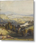 Exeter From Exwick, 1773 Metal Print