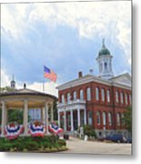 Exeter Town Hall Metal Print