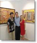 Exhibition Cozumel Museum Mexico  Metal Print