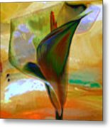Exotic Calla Lilly Metal Print