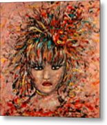 Exotic Dancer Metal Print