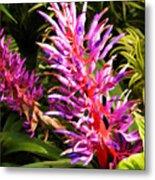 Exotic Flora Metal Print