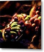 Exotic Fruit Platter Metal Print