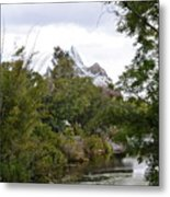 Expedition Everest Metal Print