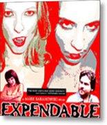 Expendable Poster Metal Print