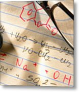 Experiment Notes In Applied Science Research Lab Metal Print