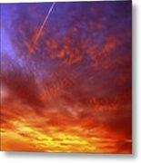 Exploded Sky Metal Print