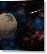 Exploring Planet Mars Metal Print