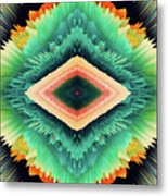 Exponential Flare Metal Print