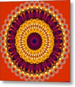 Expression No. 7 Mandala Metal Print