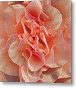 Expressionist Rose Metal Print