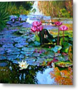 Expressions From The Garden Metal Print