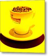 Expresso.piccolo.giallo Metal Print