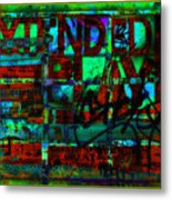 Extended Play Graffiti Radio/tonyadamo Metal Print