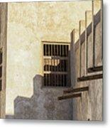 Exterior Of Isa Bin Ali House, Bahrain. Metal Print
