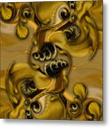 Extracts From Uplifting Energy Metal Print