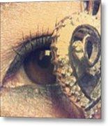 Eye Heart U Metal Print