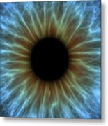 Eye, Iris Metal Print by Pasieka