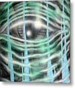 Eye Knew Metal Print