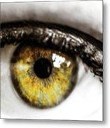 Eye Macro3 Metal Print
