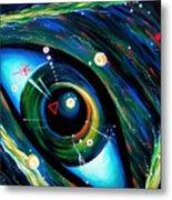Eye Of Immortal Eternity. Timeless Space 2 Metal Print
