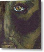 Eye Of Ivy Metal Print