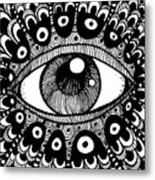 Eye Of March Metal Print