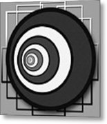Eye Of The Circle Metal Print
